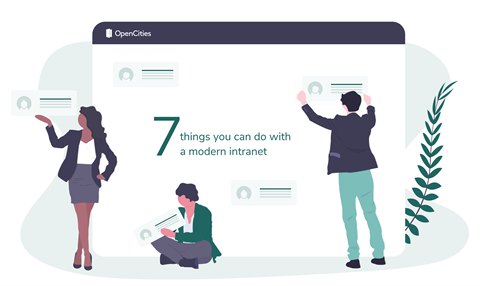 7 things you can do with a modern intranet illustration